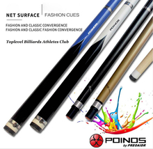 New Arrival POINOS Brand CY Billiard Pool Stick Cue Kit Tips 13mm 11.5mm 10mm Gold Blue White Black Colors Duarble China 2019