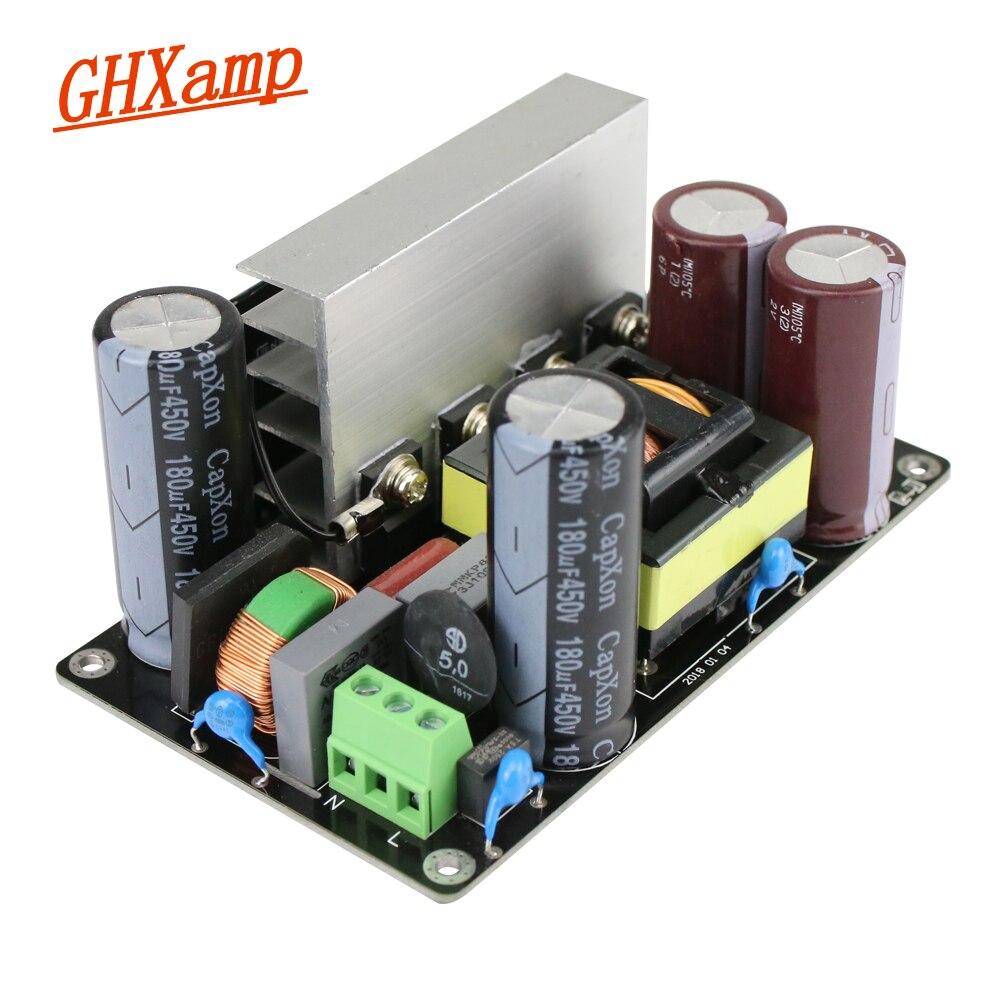GHXAMP Atualizar 500 w Amplificador Interruptor de Alimentação Dupla DC 60 48 36 24 80 v v v v v LLC Tecnologia Soft Switch Substituir Anel Vaca 1 pcs