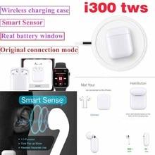 2019 new Original i300 TWS 1: 1 size Bluetooth 5.0 Wireless earphones for apl PK i100 i80 tws