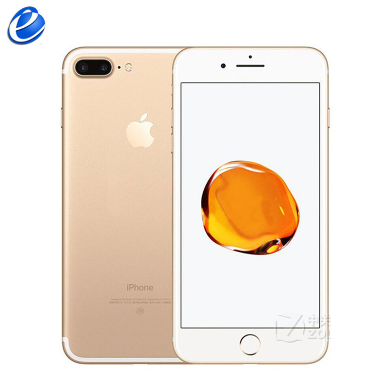 Original Apple IPhone 7 Plus Fingerprint 3GB RAM 32/128GB/256GB IOS Cell Phone LTE 12.0MP Camera Apple Quad-Core12MP Cellphone