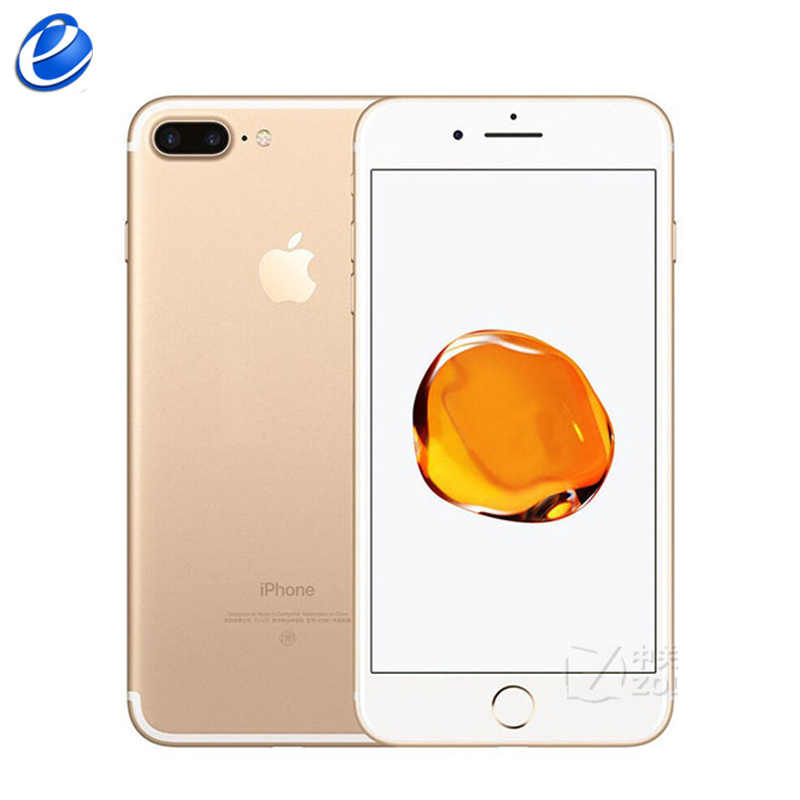 Apple original iphone 7 plus impressão digital 3 gb ram 32/128 gb/256 gb ios telefone celular lte 12.0mp câmera apple Quad-Core12MP celular