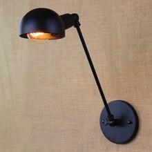 Lámpara de pared Vintage Estilo nórdico LOFT, candelabro de Arte Africano clásico, candelabro LED ajustable, luces de pared circulares ZBD0107