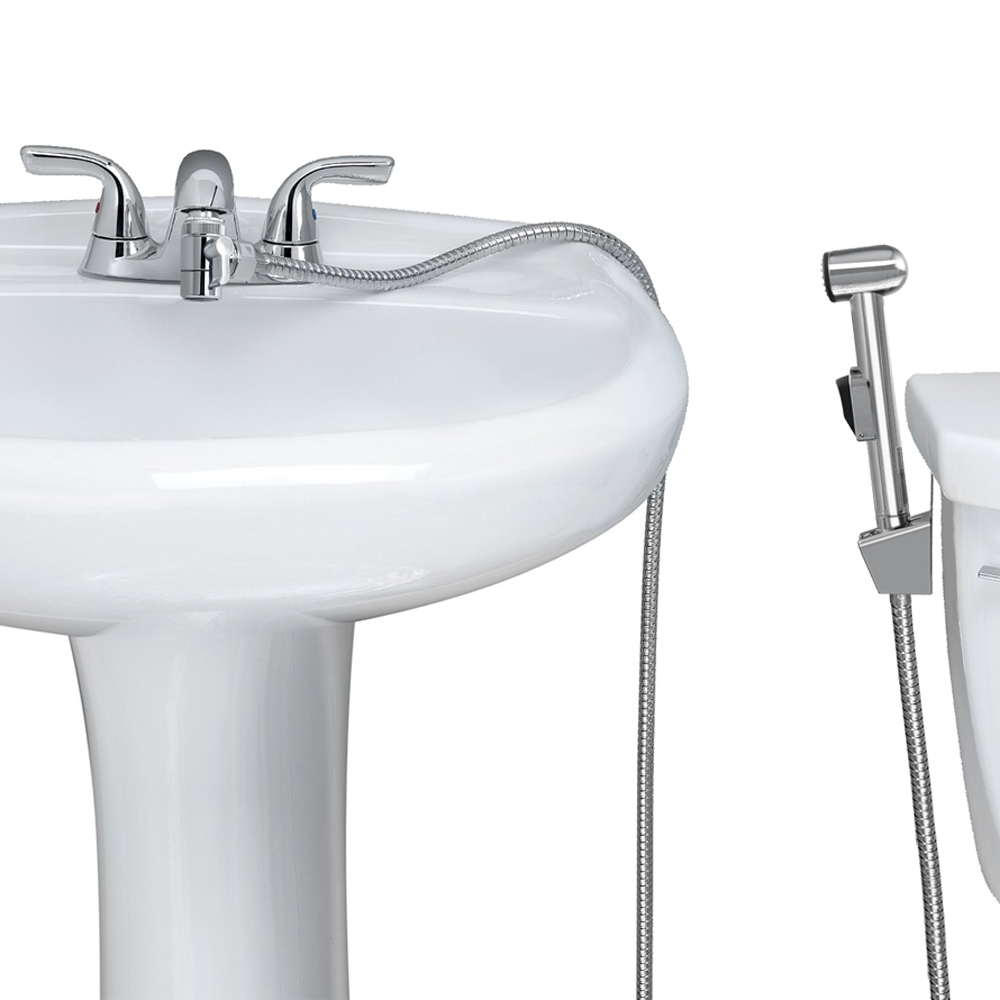 KES Warm Water Toilet Handheld Bidet Sprayer For Faucet
