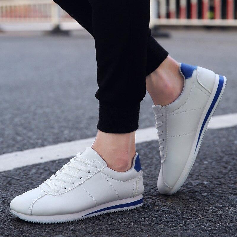 Croix En Loisirs r Casual 2018 Mode Respirant Baskets tied e Cuir Nouveau B Pu Blanc Chaussures Printemps Hommes SOgUqwzX