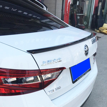 Auto Accessories For Skoda Superb 2015 2016 High Quality ABS Plastic Unpainted Primer Tail Trunk Wing Rear Spoiler Decoration