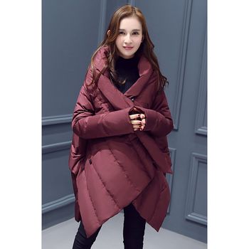 2019 New Arrival European Style Brand Parka Winter Jacket Coat Women Down Parka Hot Selling Cloak Warm Overcoat Female GQ1545