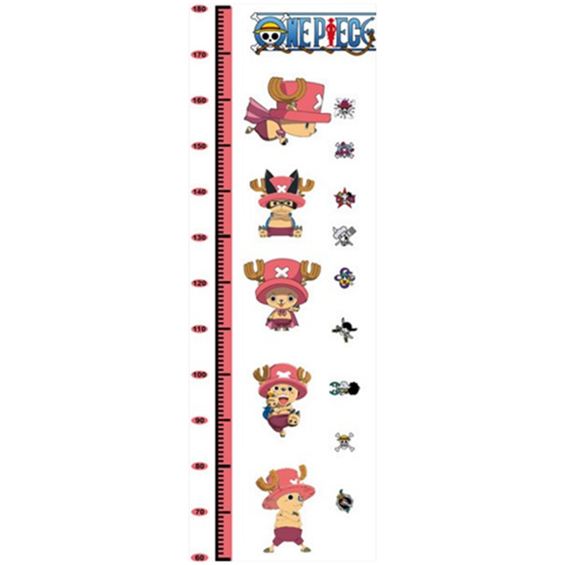180cm Boy Growth Chart Measure Height Wall Stickers One