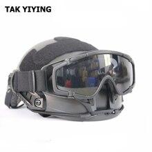 FMA Ballistic tactical Goggle for Helmet anti-fog lens цена в Москве и Питере