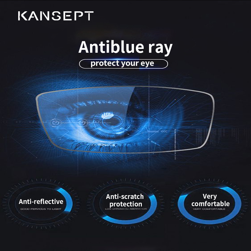 Anti-blue Ray No Degree Protection Computer Light Anti Fatigue And Anti Scratch Antiblue Lens Protection For Screen Light