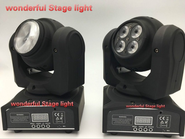 5LED 50W RGBW Light Double Sides 15/21 Channel LED Stage Light DMX 512 Beam