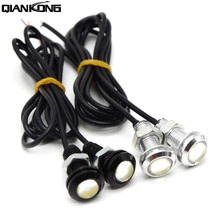 2Pcs 23/18MM Car LED Eagle Eye Light DRL Daytime Running Turn Signal Parking Lamp For KTM EXC F DR DRZ RM RMX