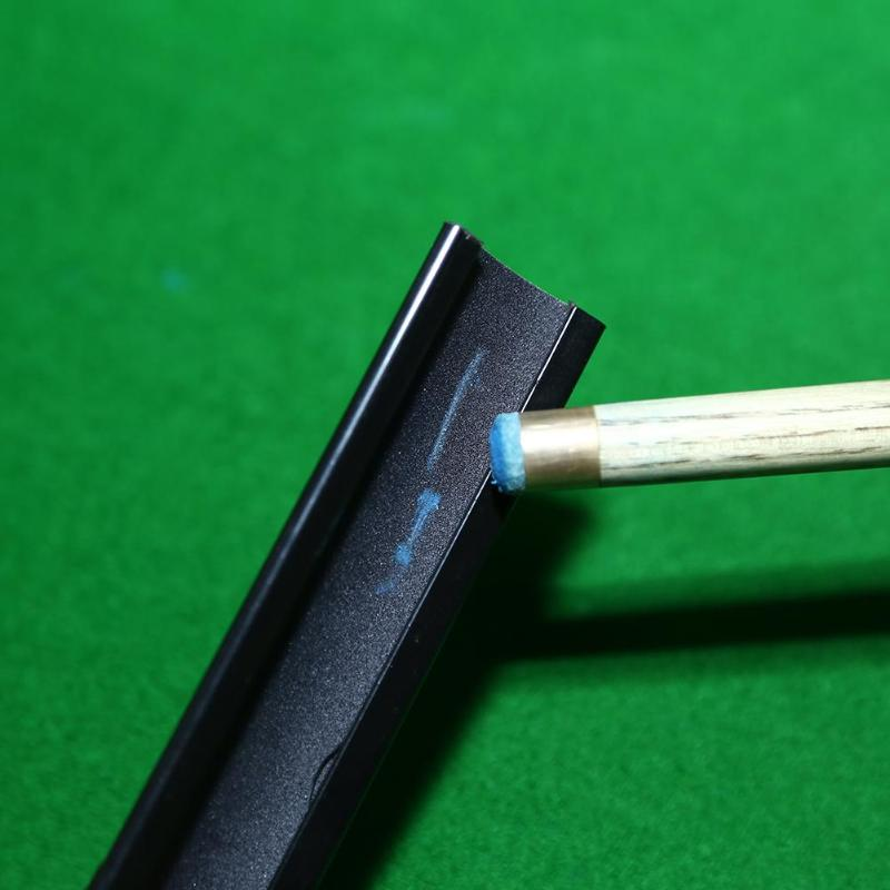 Portable Billiard Double Sided Cue Tip Shaper Snooker Pool Scuffer Table Too wFB