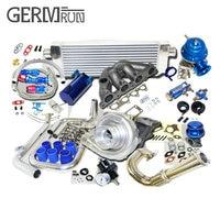 For Honda Civic Complete Turbo Kits D Series EX/Si 1.6L SOHC VTEC I 4 125HP D16Z6