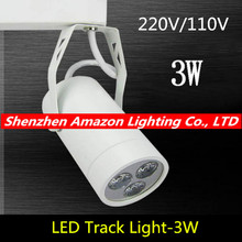 3W Led Track Light Spotlight Business Lamp Boutique Store/clothing Shop/ Stage Track Lighting