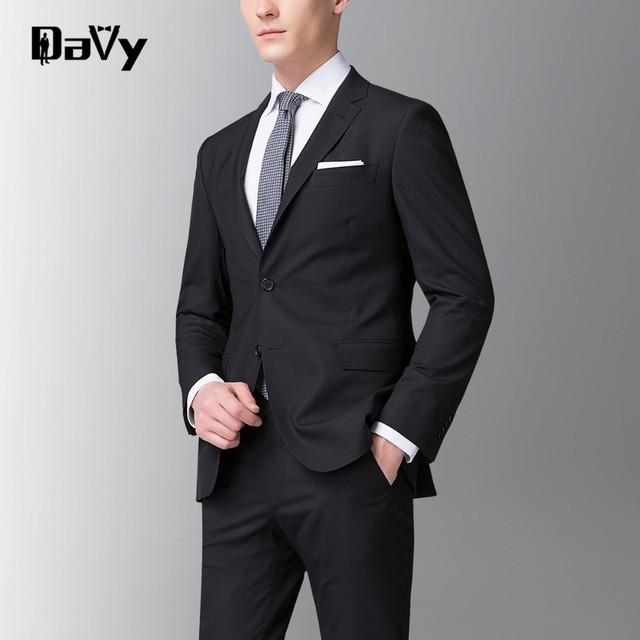 New Style of men Striped Customized by hand suits Slim Fit Fashion Brand Men Business Dress Suits