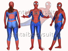 3D Print Muscle Spider-Man Superhero Spandex Lycra Zentai Bodysuit Halloween Cosplay Party suit free delivery