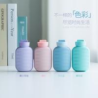 Diy retro garrafa de água quente mão aquecedor  usb recarregável mini portátil bebê quente  com carregamento tesouro inverno presente