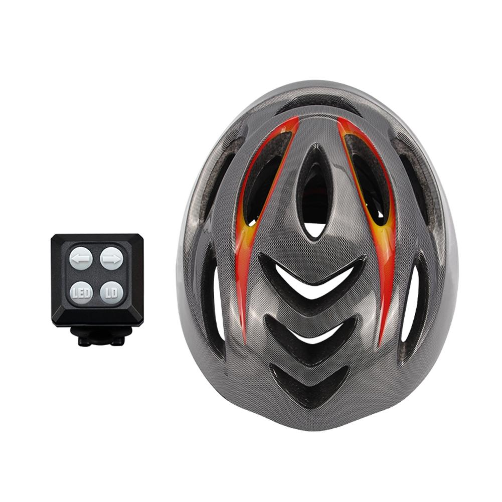 LumiParty Cycling Smart Steering Helmet Mountain Bike Accessory USB Chargeable moon cycling helmet ultralight bicycle helmet in mold mtb bike helmet casco ciclismo road mountain bike safty helmet
