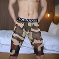 Man Sexy Camouflage Penis Pouch Sleep Lounge Wear Mens Mesh Sheer Pajama Bottoms Gay Transparent Tight Mid Pants Size S M L