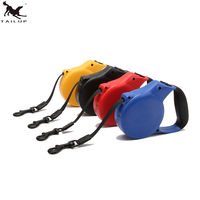 3M 5MRetractable Dog Leash Lead Nylon ABS Pets Cats Puppy Leash Lead Automatic Retractable Walking Lead