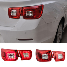 Newest LED Rear Lights Kit modification Car Styling Lamp For Chevrolet Malibu 2013 2014 High Quality Red-type