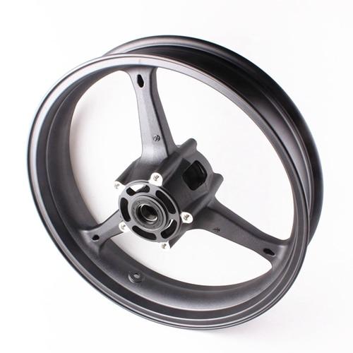 Motorcycle Front Wheel Rim For Suzuki GSXR 600 GSXR 750 K6 2006-2007 GXSR1000 K5 K7 2005 2006 2007 2008 Aluminum Alloy Black