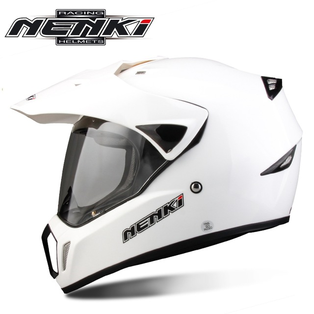 Nenki Brand Full Face Motocross helmet Motorcycle Casco Moto Bike Capacetes Sport helmet with Shield lens Casque MX310 masei mens womens war machine gray ironman iron man helmet motorcycle helmet half helmet open face helmet abs casque motocross