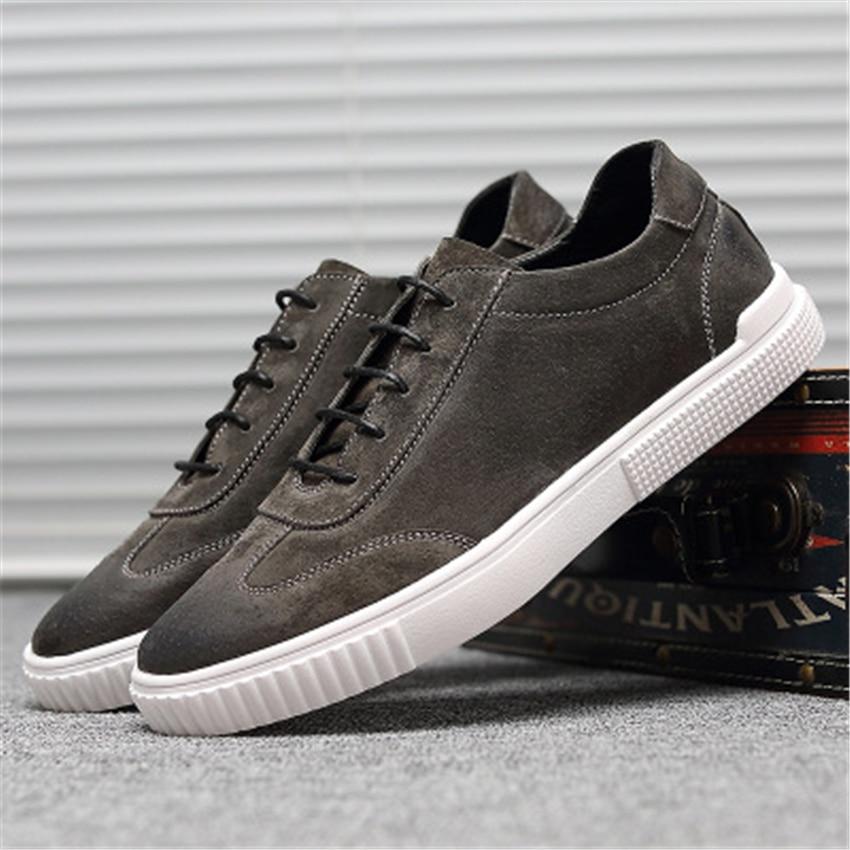 brown Chaussures Zapatos Automne Sneakers Homme Décontracté gray Pour Black Hiver Respirant Hombre Velours Effet Fordriving Sheera Hommes Mode Doux T6xpTwXqr