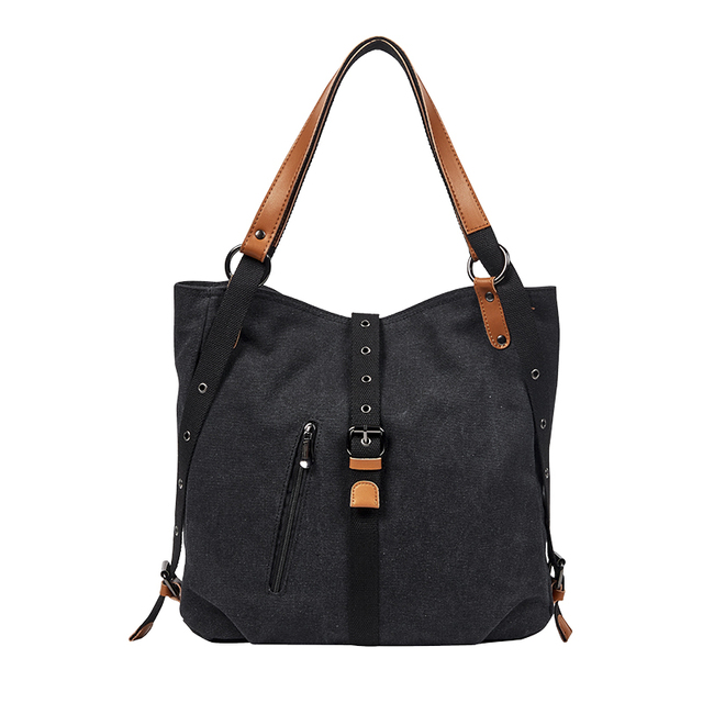 DIDABEAR Brand Canvas Tote Bag Women Handbags Female Designer Large Capacity Leisure Shoulder Bags Big Travel Bags Bolsas 2
