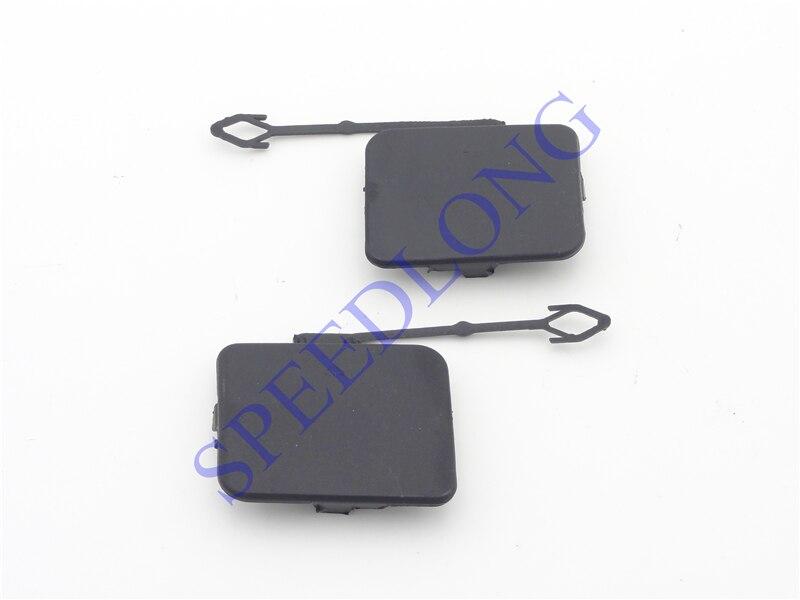 2 Pcs/paire Arrière pare-chocs remorque couvre crochet de remorquage couverture caps pour BMW X5 E70 2007-2010