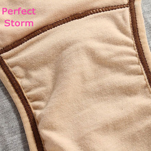 Cotton Physiological pants female high waisted  panties