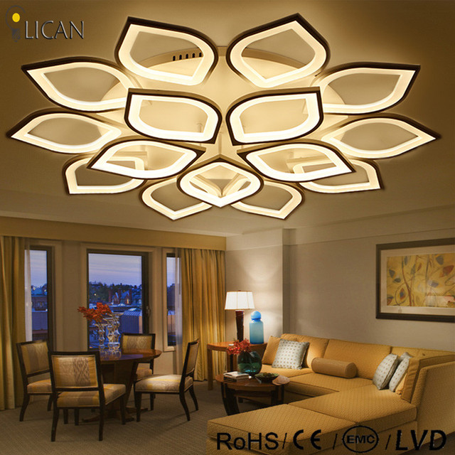 Lican Modern Led Ceiling Chandelier Lights For Living Room Bedroom Plafon Home Dec Ac85 265v