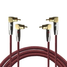 2 RCA Male to 2 RCA Male Audio Cable For DVD Subwoofer Amplifier Speaker TV Receiver Signal Transfer Cords Wire 1m 2m 3m