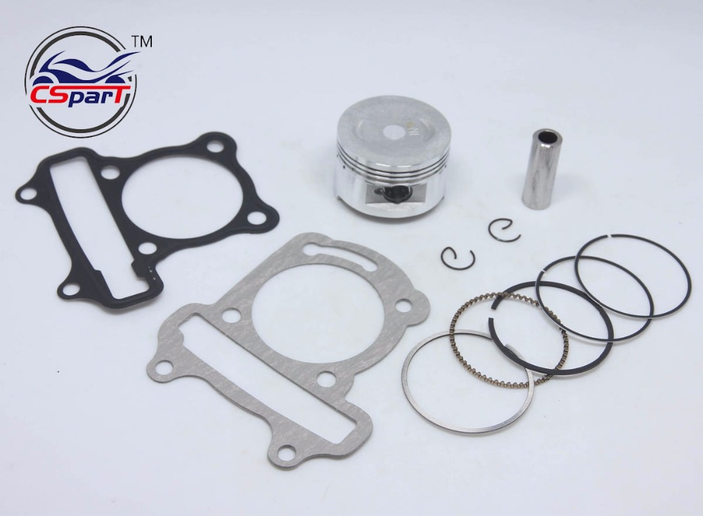 Performance 47mm Piston Rings Gasket Kit GY6 80CC Jonway Jmstar ...