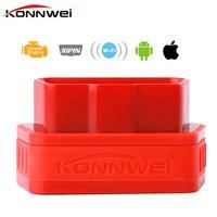 Konnwe KW901 V1.5 ELM327 Wifi OBD OBD2 Escáner Automático de Diagnóstico herramienta ELM 327 WIFI OBDII V 1.5 Inalámbrico Para el iphone IOS/Android