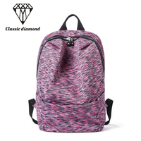 Backpack Women High Quality Soft Light Nylon Fabric School Bag For Teenage Girls Travel Bag Preppy