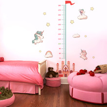 Measure Height Gauge baby Wall Sticker bedroom wall sticker for kids rooms stickers Decor Wall Decals Art Growth decoration(China)