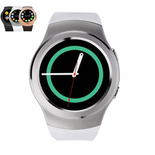 Smartwatch g3 bluetooth smart watch mtk2502c ips bildschirm sim-karte hören rate monitor uhr für apple iphone ios android
