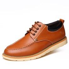 Мужские модельные туфли 2017 натуральная кожа британский стиль бизнес мужская кожаная обувь оксфорды мужские официальный квартиры обувь HSBR7701
