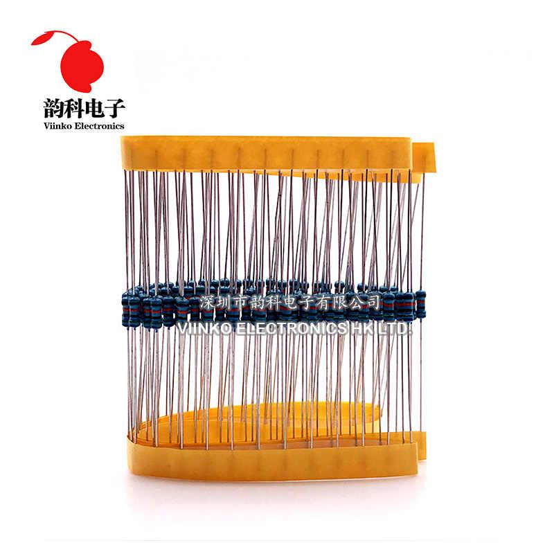 100 Stuks 18 K Ohm 1/4W 18 K Metaal Film Weerstand 18 Kohm 0.25W 1% Rohs