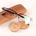 Nueva Llegada de Ancho Marco de Anteojos Gafas de Miopía Hombres Anteojos Ópticos