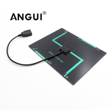 6VDC 6W 5W 4.5W 3.5W 3W 2W Solar Panel Charger  Solar Cell DIY Charge Battery cable 30cm 5V USB output Solar Panel 6VDC