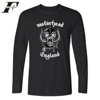 British Metal Rock Band Motorhead Long Sleeve T Shirt Spring Cotton Fashion Long T Shirt Men