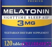 Pride Melatonin 3 mg / 120 improve your quality of restMelatonin helps you fall asleep quickly and stay asleep longer