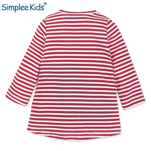 8bc192d20cdaf Simplee Kids Baby Girls Christmas Dresses For Girls Dress Deer Stripes Elk  Long Sleeves Birthday Christmas Santa Claus Costumes-in Dresses from Mother  ...