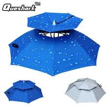 Foldable Head Umbrella Hat Anti-Rain Anti-UV Outdoor Fishing Caps Portable Travel Hiking Beach Fishing Umbrellas Hat Rain Gear