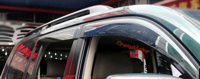 Para Toyota Land Cruiser LC200 2008-2016 viseira Janela defletor