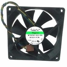 2 pcs Fan para HP dc5100 dc7100 dc7600 dc7700 d6120 PV902512P AUB0912VH 392185-001 9225 12 V pinos pwm ventilador de refrigeração da cpu do computador