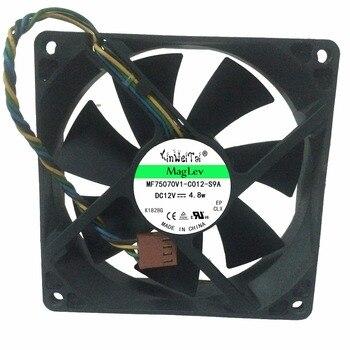 Ventilador de 2 uds para cpu HP dc7100 dc5100 dc7600 dc7700 d6120 AUB0912VH PV902512P 392185-001 9225 12V, ventilador de refrigeración pwm para ordenador de 4 pines