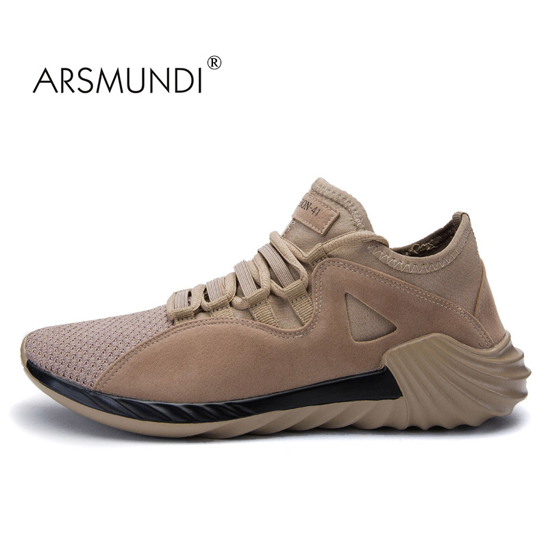 ARSMUNDI Men Running Shoes Original Speed JL-J175 Sneakers Breathable Massage Non Slip Men Brand Running Shoes Mens Runners 2017 peak sport speed eagle v men basketball shoes cushion 3 revolve tech sneakers breathable damping wear athletic boots eur 40 50